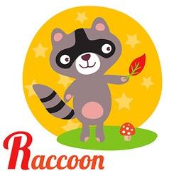 RaccoonL vector image vector image
