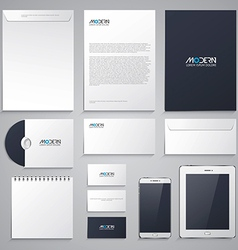 Set of corporate identity 2 vector image