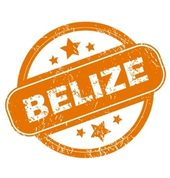 Belize grunge icon vector
