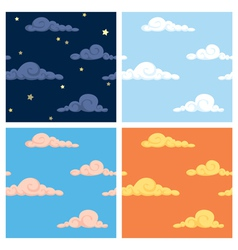 Sky patterns vector