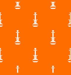 arabic hookah pattern seamless vector image