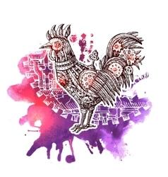 Mechanical cock vector