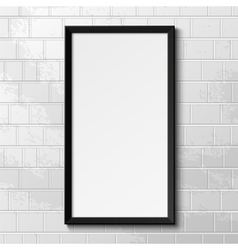 Realistic frame vector image vector image