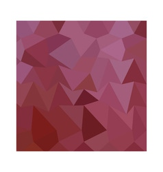 Antique fuchsia abstract low polygon background vector
