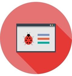 Web Crawler vector image