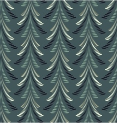 Firs seamless pattern christmas background twist vector