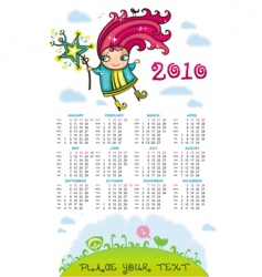 fairy girl cal vector image vector image