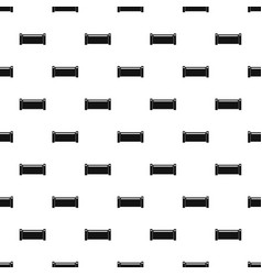 Pipe piece pattern vector