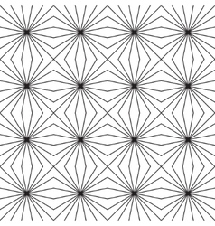Seamless geometric pattern Optical vector image vector image