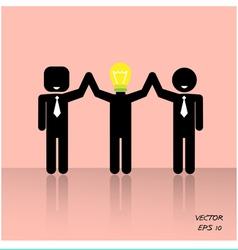 Teamwork concepts vector