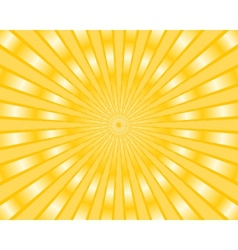 Yellow stripes background vector image vector image
