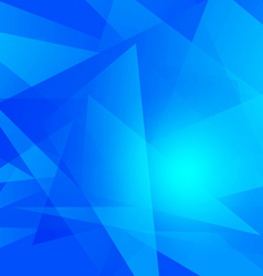 Geometric abstract blue color background vector