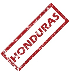 New honduras rubber stamp vector