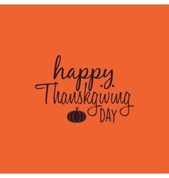 Happy thanksgiving day vector