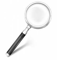 magnifying glass vector image vector image