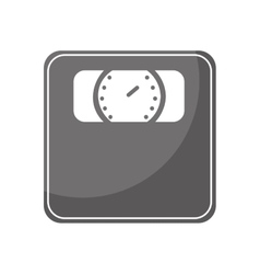 scale measure weight isolated icon vector image