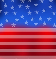 Abstract American Flag for 4th of July vector image vector image