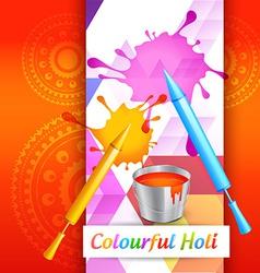 Holi colors vector