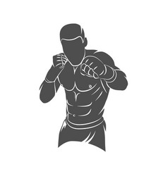 Mixed martial art vector