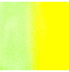 Green and yellow watercolor squarer background vector
