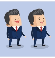 Cartoon man design vector
