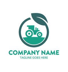 agriculture logo-20 vector image