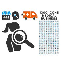 Find prostitute icon with 1300 medical business vector