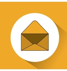 Envelope mail message icon vector