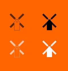 mill icon vector image