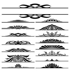 Design elements frames vector