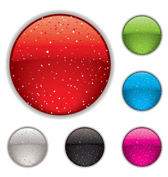 gel buttons vector image