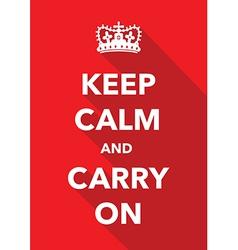 Keep calm signs set vector