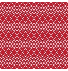 Seamless geometric line pattern vector image vector image