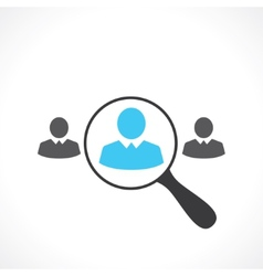 Search for employees vector