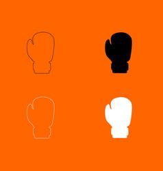 Boxing glove icon vector