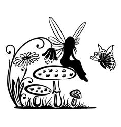 Fairy fantasy vector image