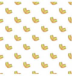 Pistachio texture nuts seamless pattern ruit vector