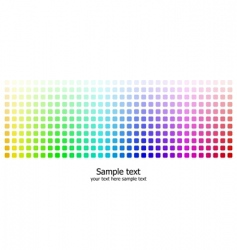 rainbow colors background vector image vector image