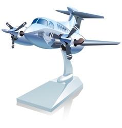 Cartoon airplane vector