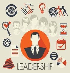 freelance leadership teamwork3 resize vector image
