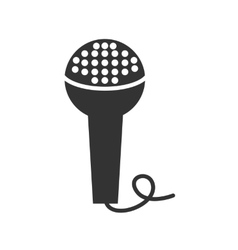 Icon microphone vector