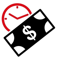 Rent recurring payment icon vector