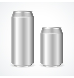 Aluminum Cans vector image vector image