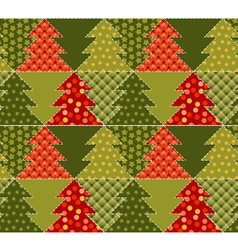Christmas tree green color abstract background in vector