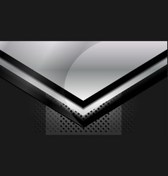 dark grey metal background vector image vector image