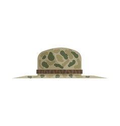 Hat of hunter icon cartoon style vector image vector image