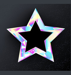 Holographic star vector