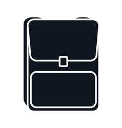 School backpack baggage vector