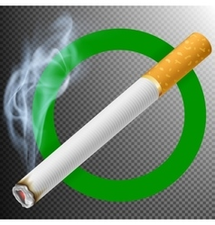 Smoking Area Sign EPS 10 vector image vector image