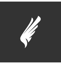 Wing Icon logo element for template vector image